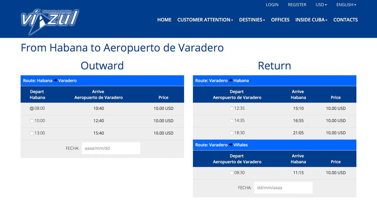 Билет на автобус можно купить на сайте «Виазуля»