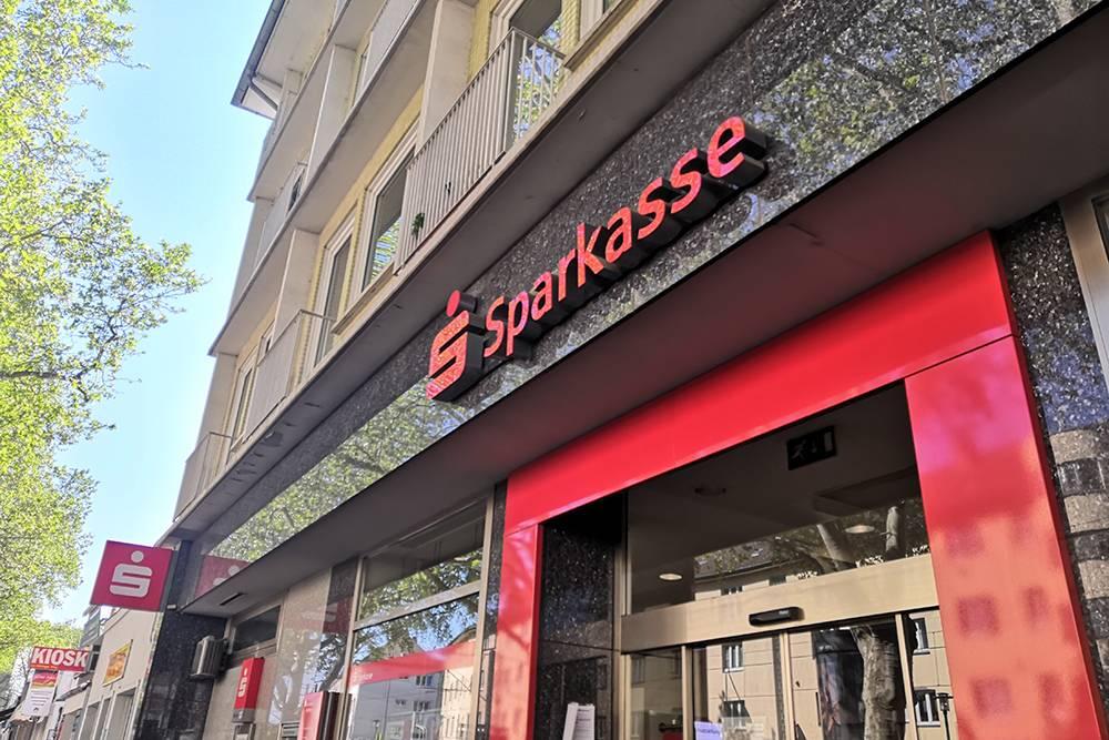 Банк Sparkasse — один из самых популярных в Германии