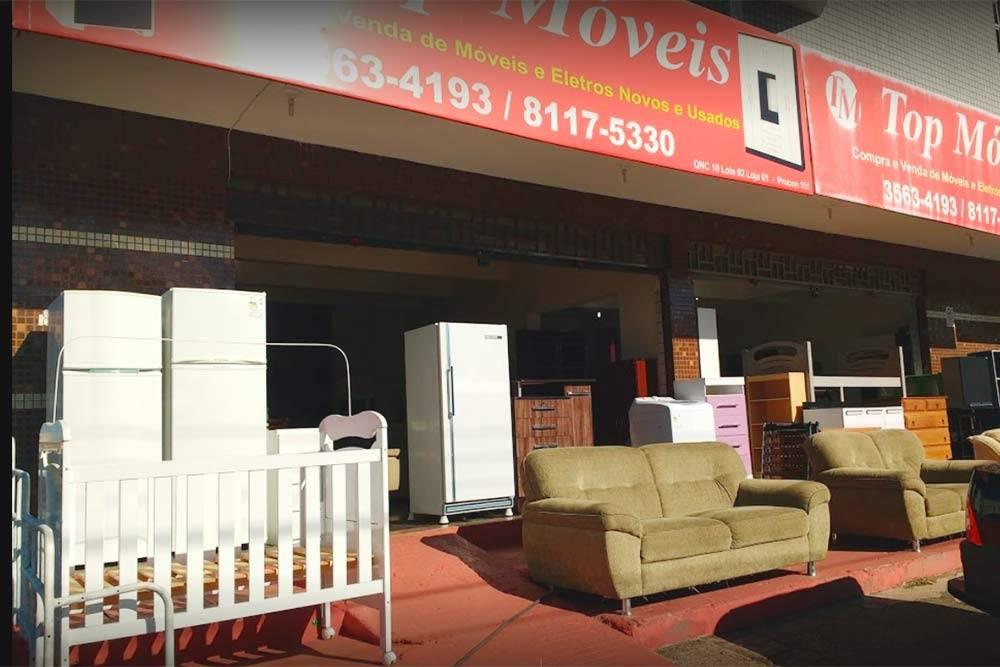 Так в Бразилии продают б/у мебель. Доставку ивывоз магазин берет насебя. Источник: Nielson Marques, «Гугл-карты»