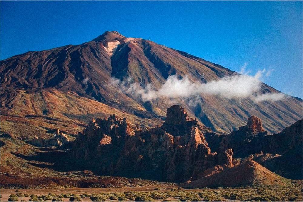 Дорога к вулкану Тейде напоминает декорации к фильму «Марсианин»