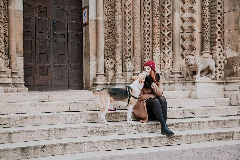 Наташа с мужем и их собакой живут в Будапеште уже 2 года