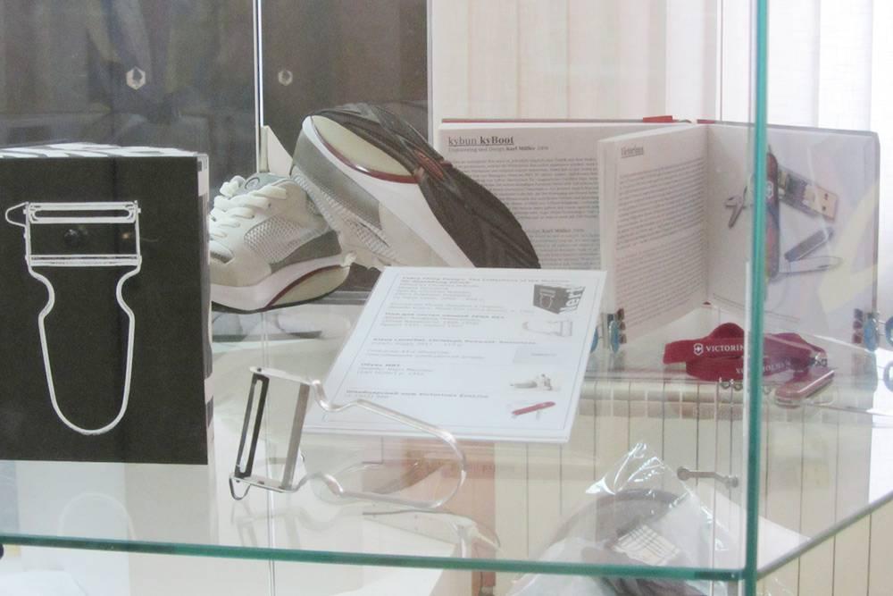 Моя часть выставки о швейцарском промышленном дизайне