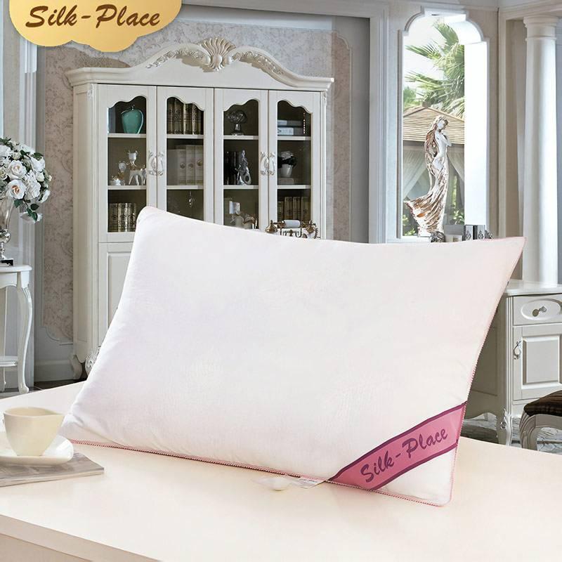 Подушка с шелковым наполнителем от 1887 рублей. Будет ехать 15 дней, ищите по запросу 100% mulberry silk pillow