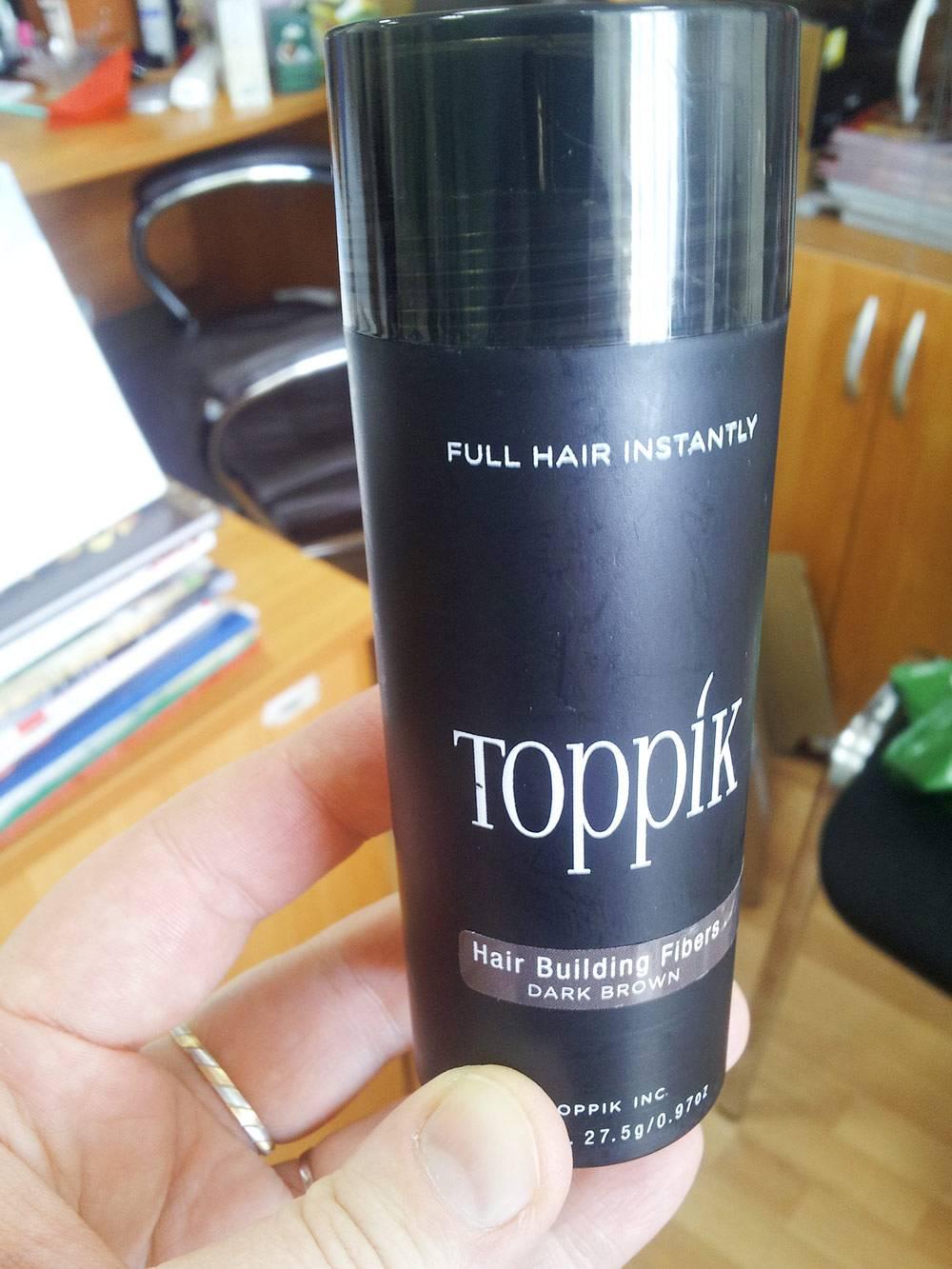 При помощи этого средства муж маскировал выпадение волос. Стоило оно 2500<span class=ruble>Р</span> за флакон объемом 12 мл