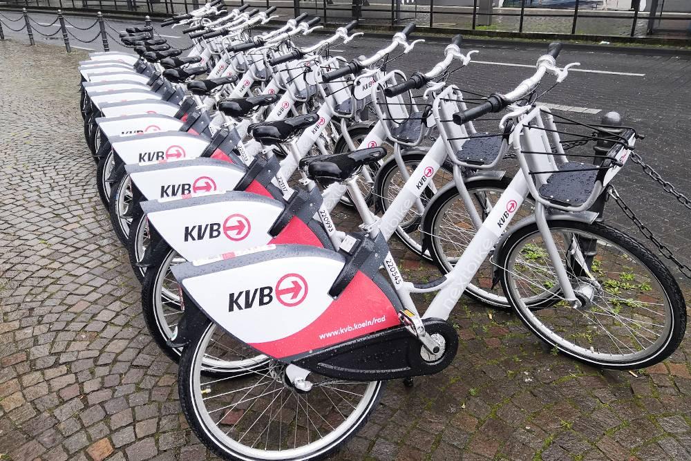 Стоянка для велосипедов напрокат
