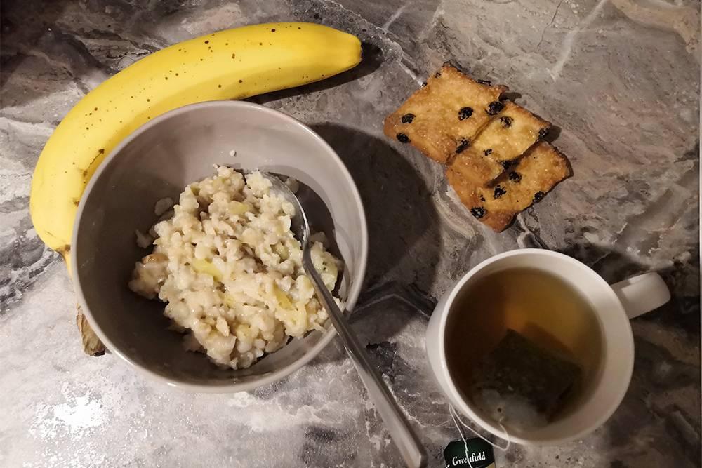 Наконец-то мой классический завтрак