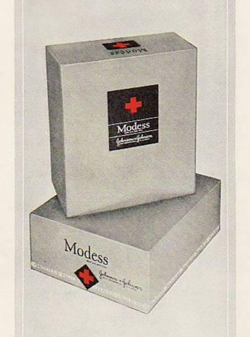 Реклама «Модесс». Источник: Kilmer House