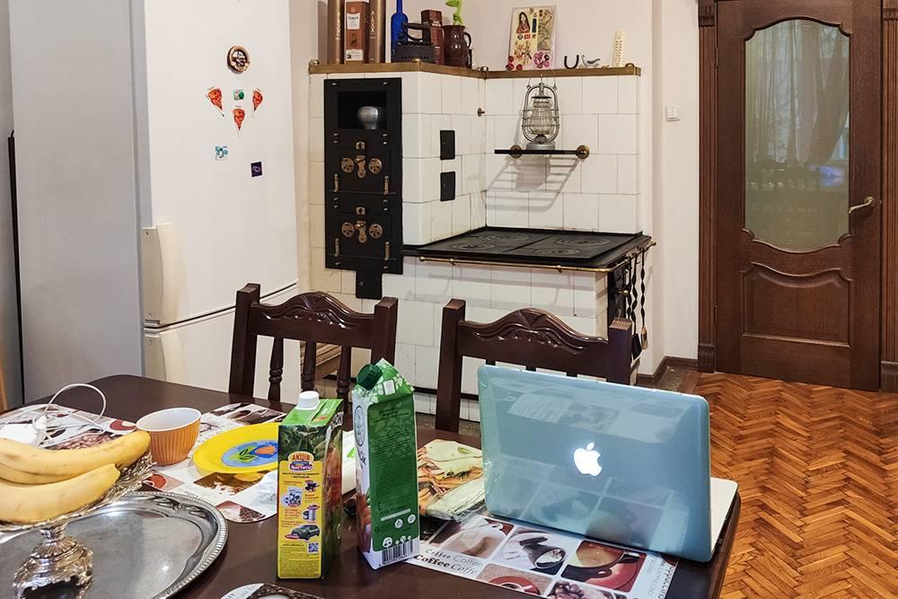 Кухня на съемной квартире