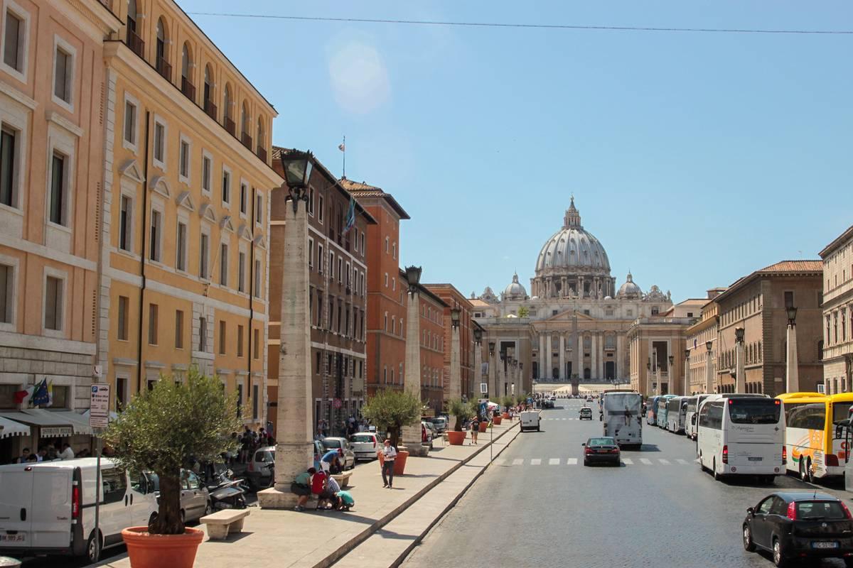 В Италии компактные города, центр которых можно обойти за день