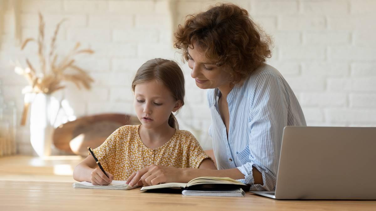 Как организовать домашнее обучение ребенка