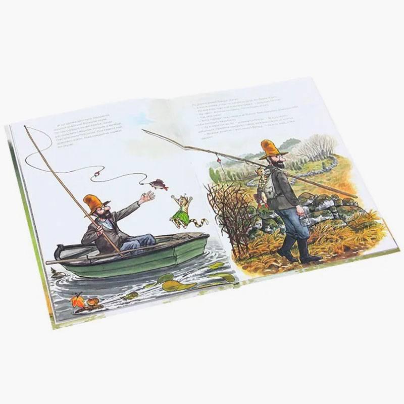 Книга шведского детского писателя Свена Нурдквиста «Петсон грустит», изданная нами. Линейка товаров намаркетплейсах никак неотличается. Сейчас ставим абсолютно весь ассортимент навсе площадки