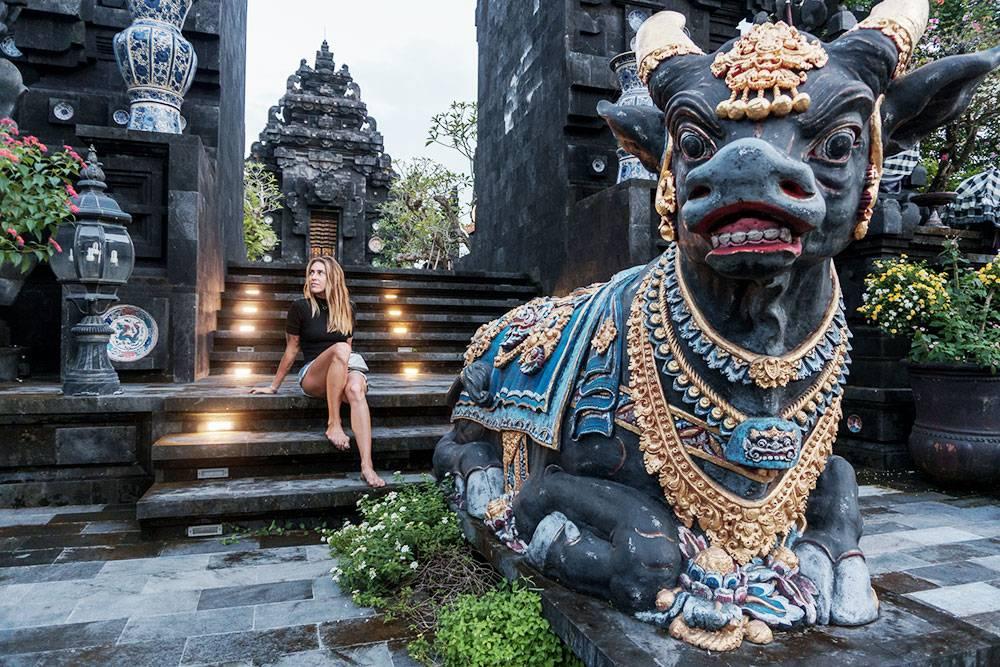 Я живу на Бали 7 лет, но об этом храме узнала недавно, хотя он всего в 10 минутах от моего дома