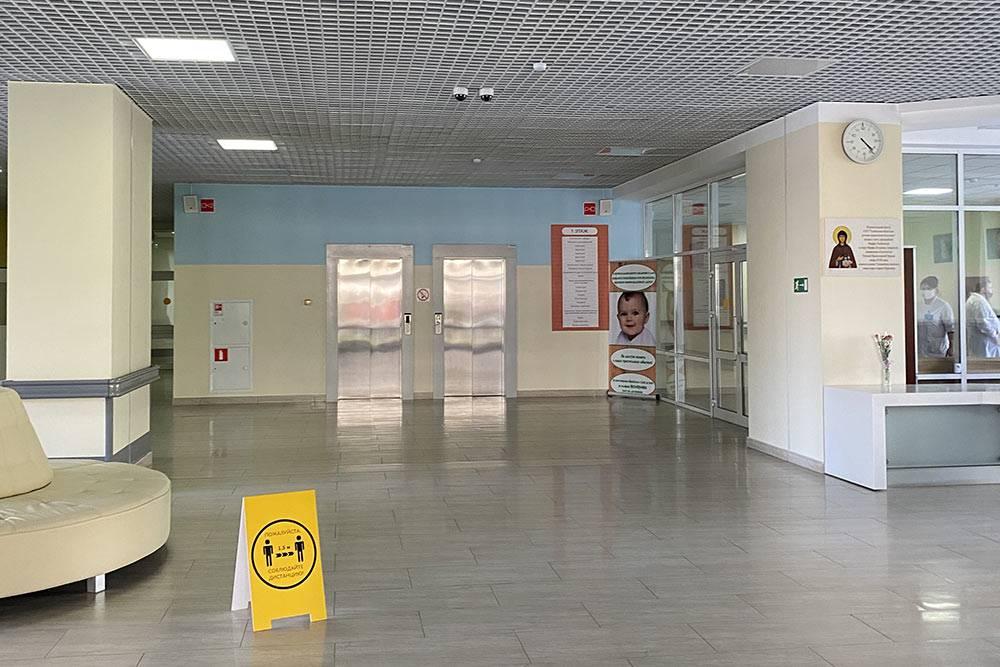 Центральный холл перинатального центра