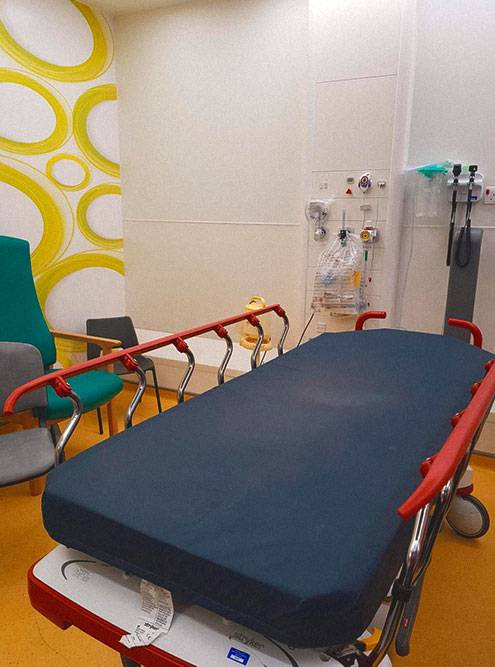 Так выглядит детское отделение госпиталя