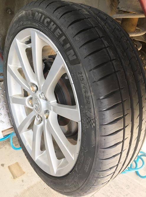 Гражданская шина Michelin Pilot Sport4, индекс износостойкости — 320
