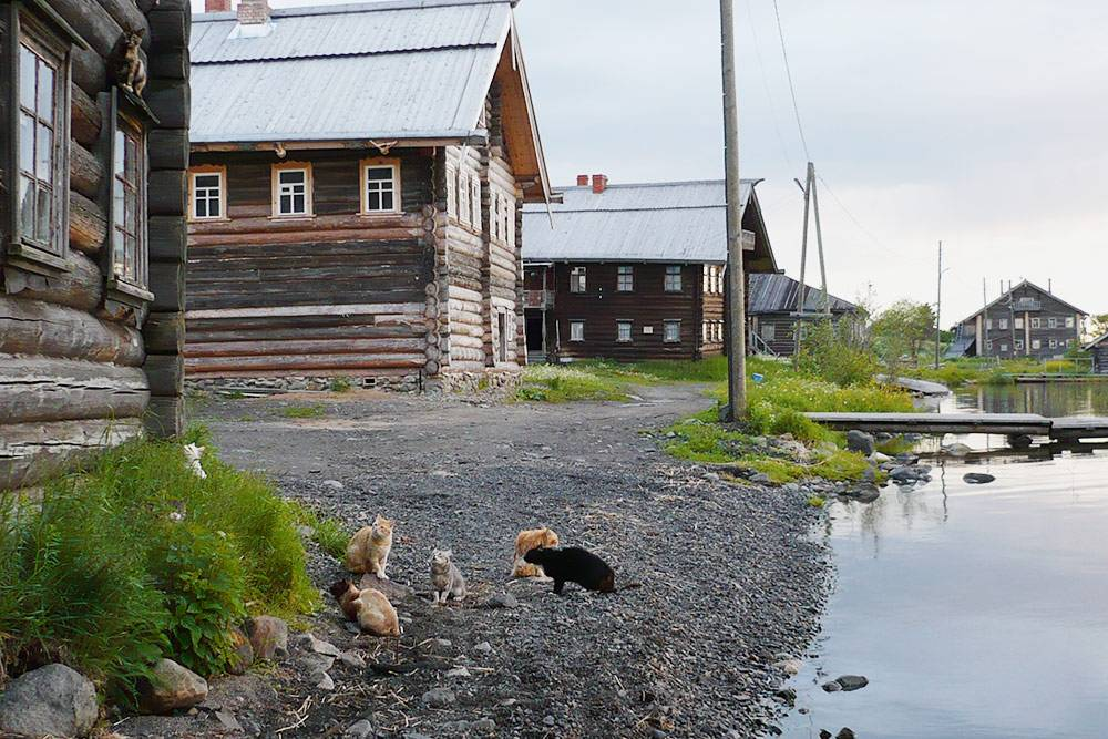 В жилых деревнях туристы видят настоящую жизнь острова. Тихий вечер в деревне Ямка