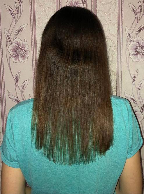 Это мои волосы в августе 2020года после первой процедуры