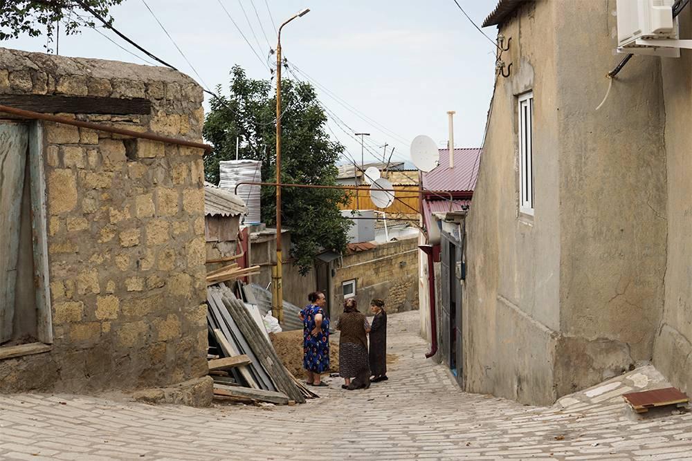 В старом центре легко заблудиться. Мы спрашивали дорогу у местных жителей. Источник: Ульяна Грушина