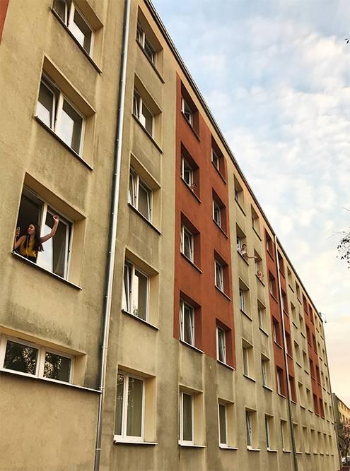 Общежитие снаружи