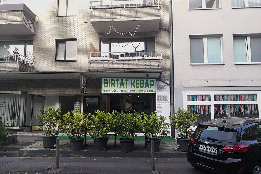 Одно из тысяч мест в Кельне, где можно попробовать кебаб