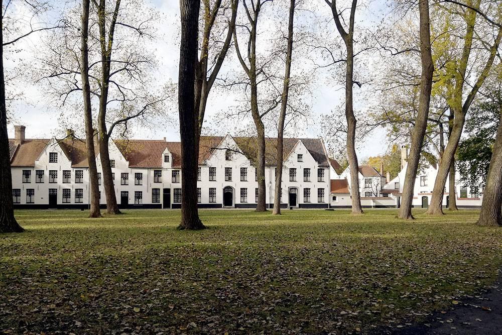 Жилые дома в Брюгге