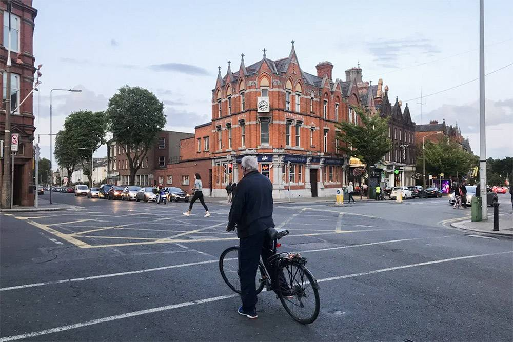 Исторический центр Дублина уютный и самобытный