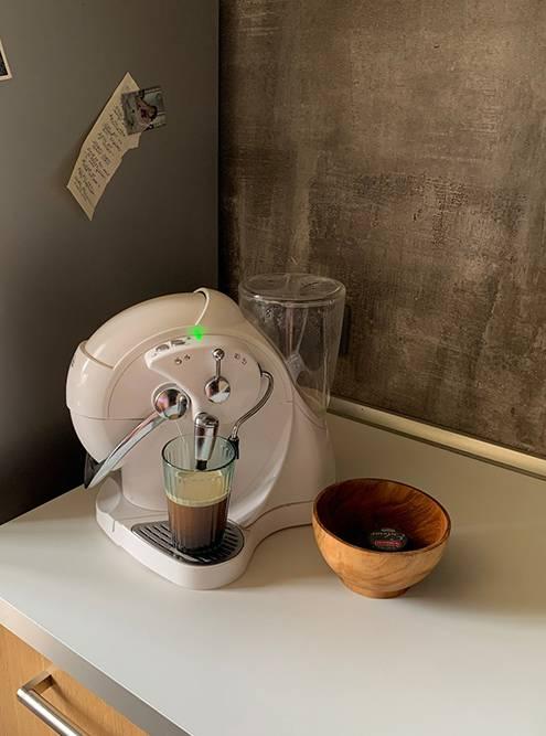 Это наша кофемашина