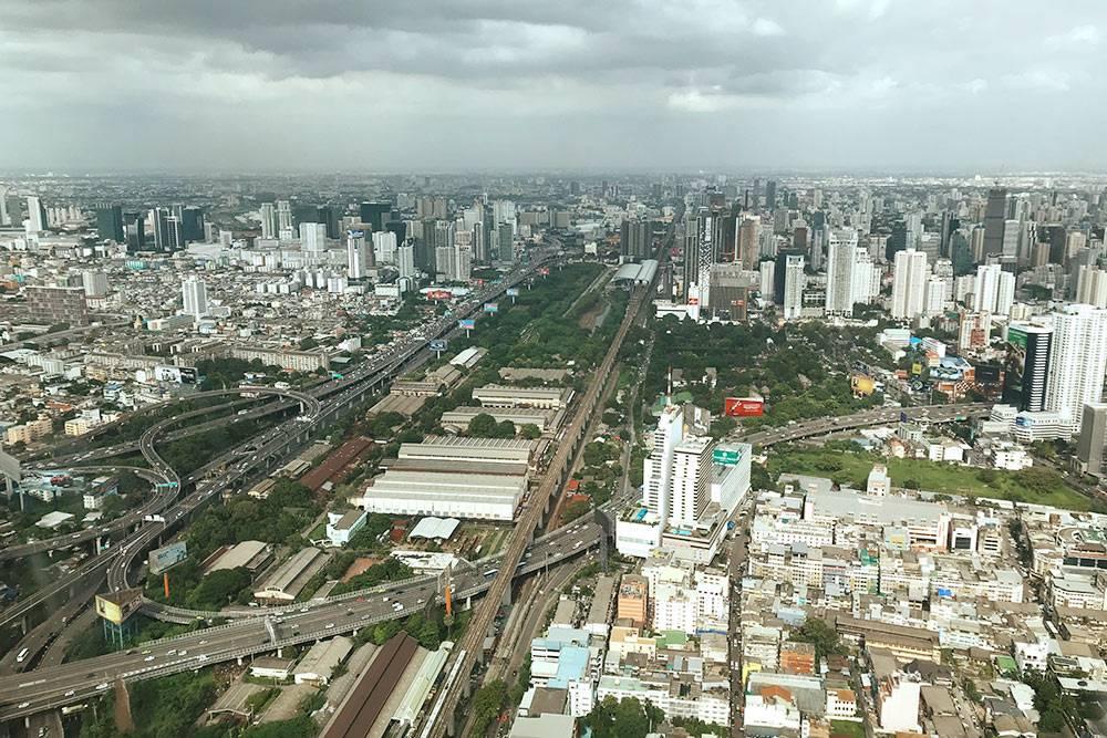 Так выглядит Бангкок с 84этажа