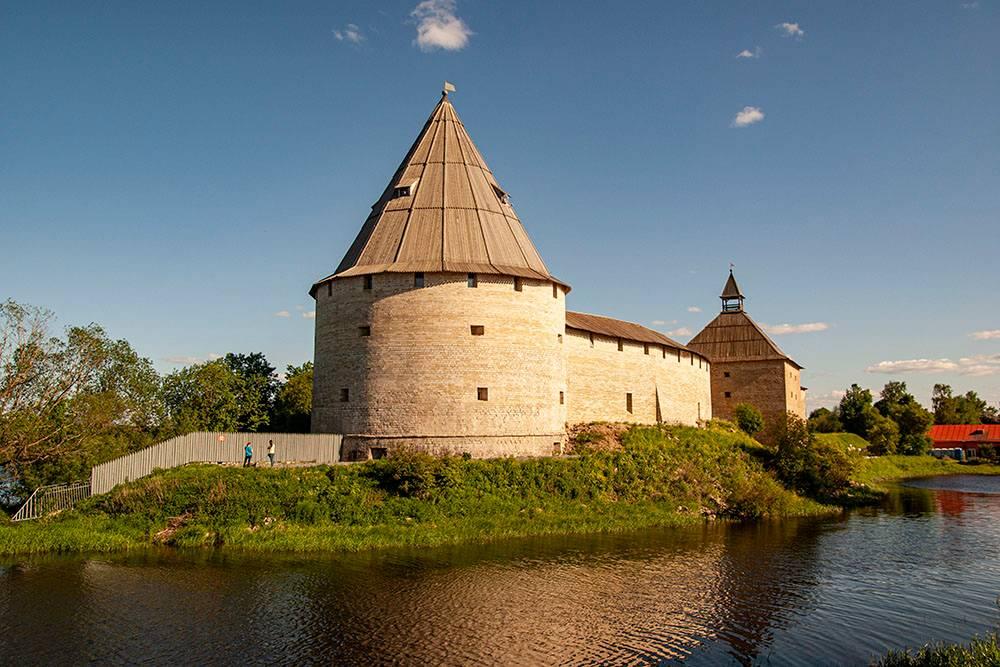 Крепость в хорошем состоянии и выглядит потрясающе
