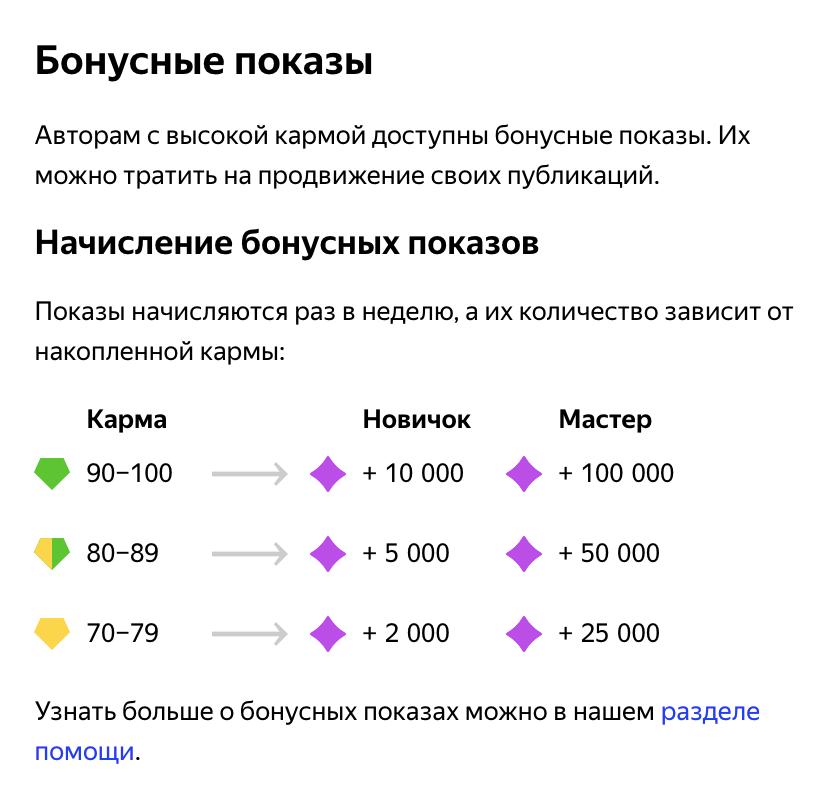 Бонусные показы можно тратить сразу, а можно копить и использовать, когда канал просядет в просмотрах