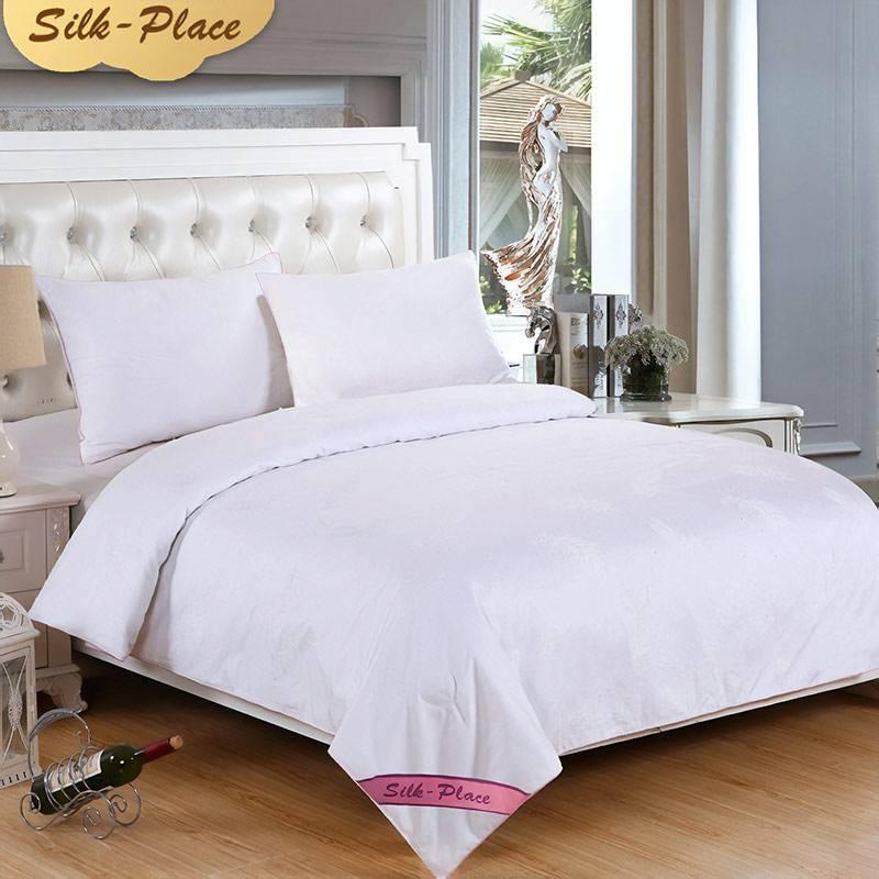 Одеяло с шелковым наполнителем от 5038 рублей. Пришлют за 15 дней. Ищите по запросу 100% mulberry silk comforter