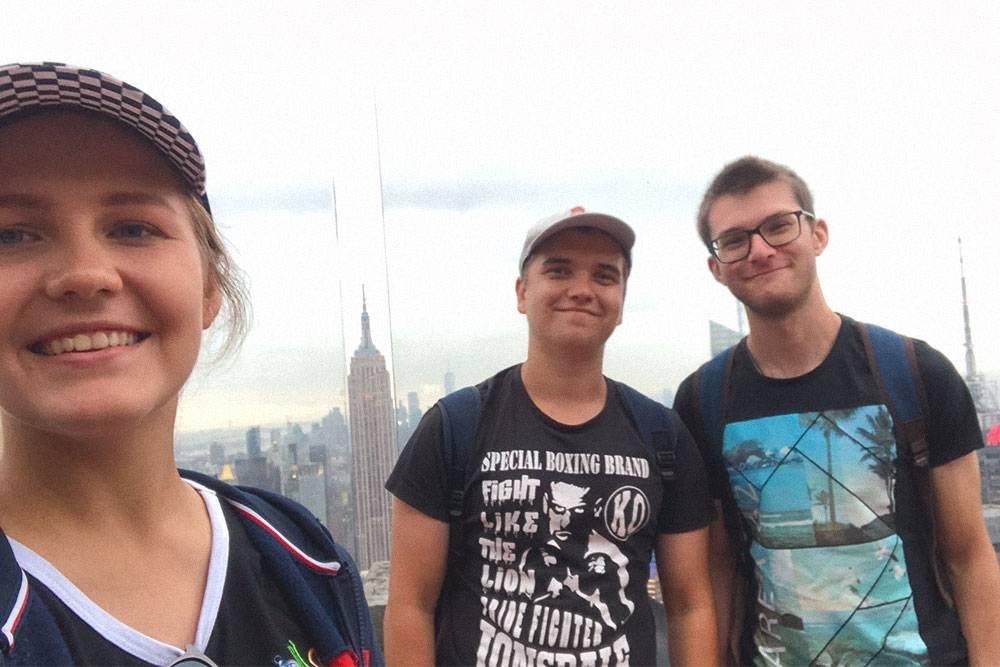 Всего за 40$ (2564<span class=ruble>Р</span>) у вас есть возможность увидеть Манхэттен с высоты 70-го этажа Рокфеллер-центра