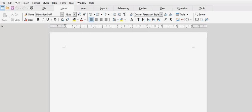 Интерфейс в LibreOffice отличается от конкурентов незначительно — я привык буквально за пару часов