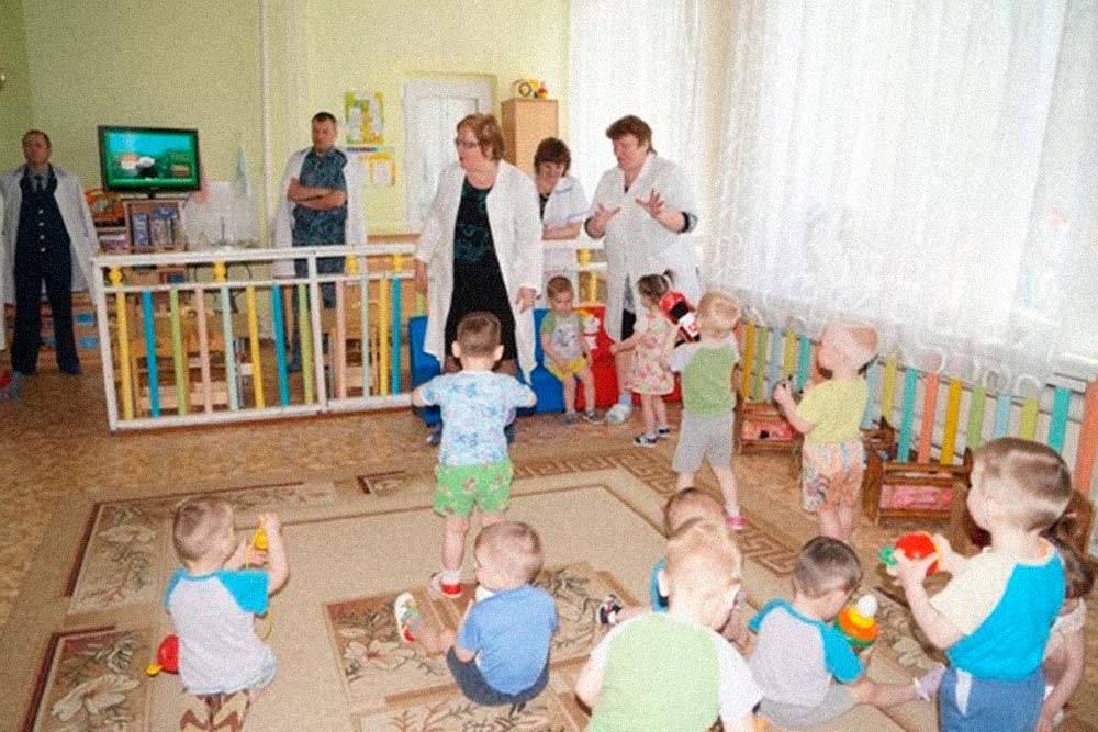 Примерно так выглядит дом ребенка в колонии. Источник: vk.com