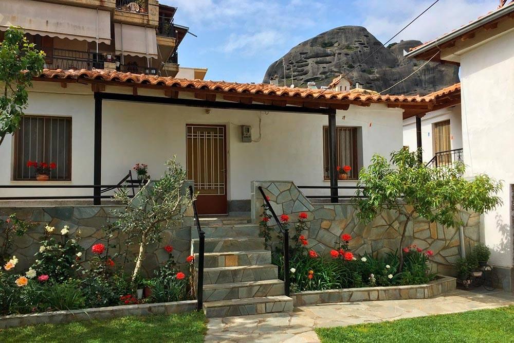 Наш дом в Каламбаке — за 6 ночей в нем мы заплатили 417€