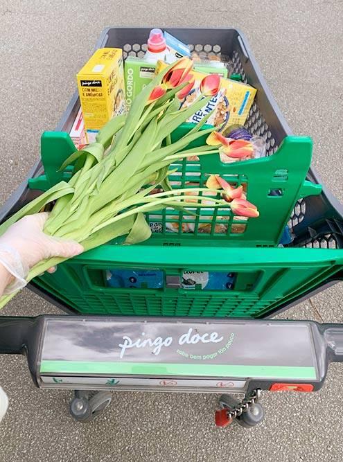 Продукты и бытовую химию мы покупаем в обычных супермаркетах