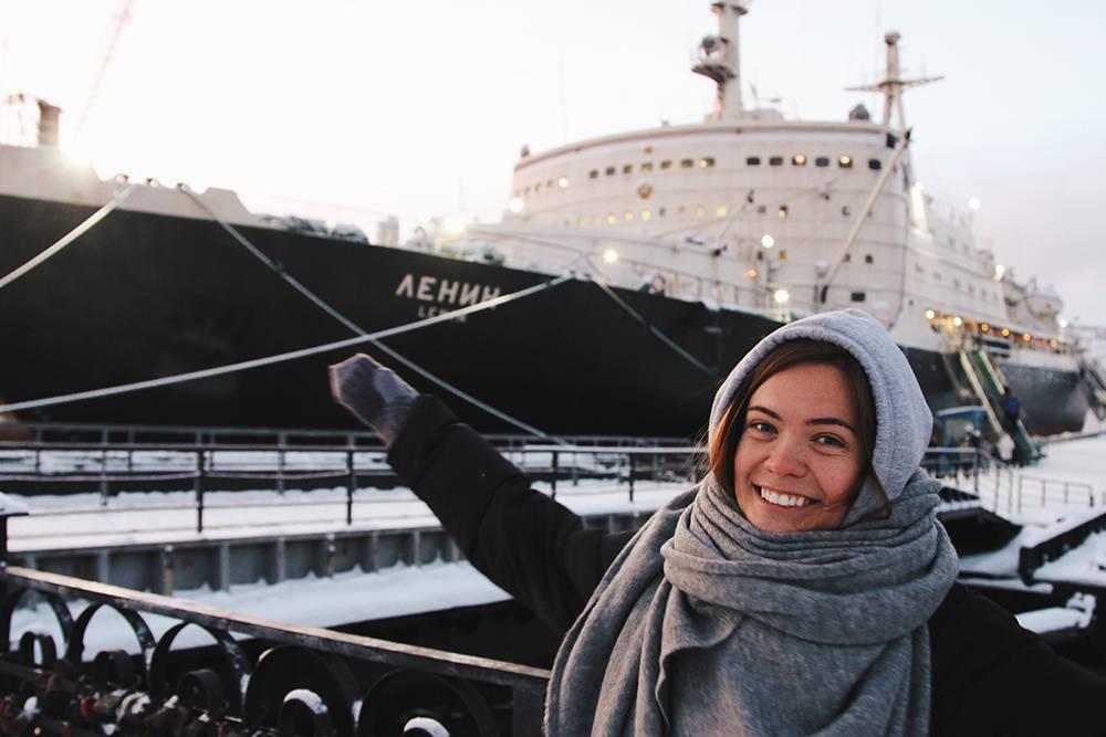 Мы остались очень довольны посещением ледокола «Ленин». Рекомендую
