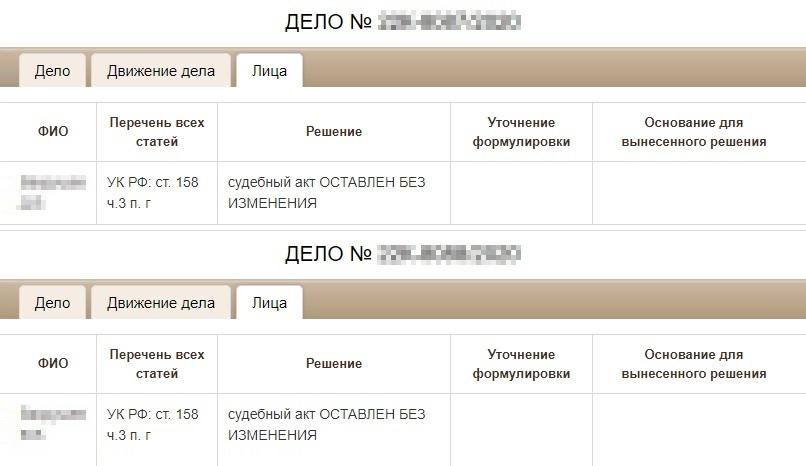 Верховный суд Республики Татарстан оставил в силе решение суда первой инстанции об избрании меры пресечения. Но непонятно, кто именно подал апелляцию: сторона защиты или обвинения