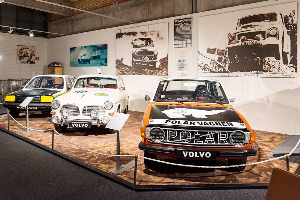 В Музее Вольво выставлены автомобили разных лет. Источник: Szikorka / Shutterstock