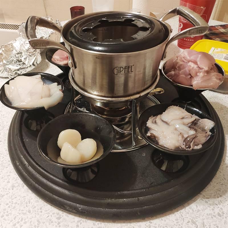Восстановленное изображение подготовки к вечеру