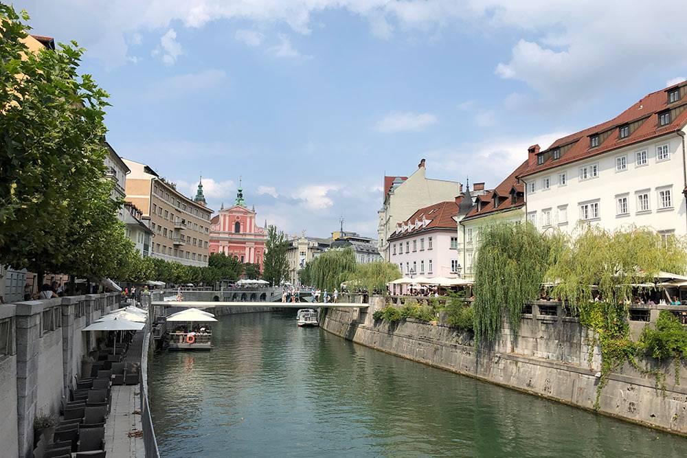 Любляну называют самой зеленой и дождливой столицей Европы