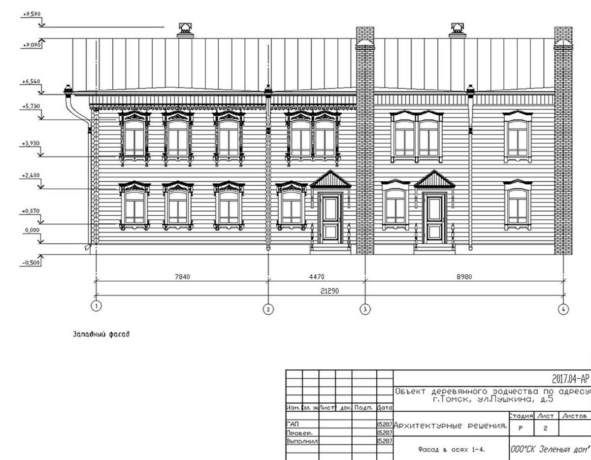 Длямэрии принципиально важно, как будет выглядеть дом с улицы. Чаще всего администрация просит скорректировать именно фасадные решения, а внутренняя начинка здания им менее интересна