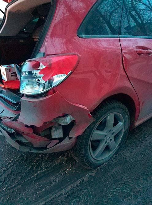 Возможно, машину можно было продать дороже, но я попала в небольшую аварию