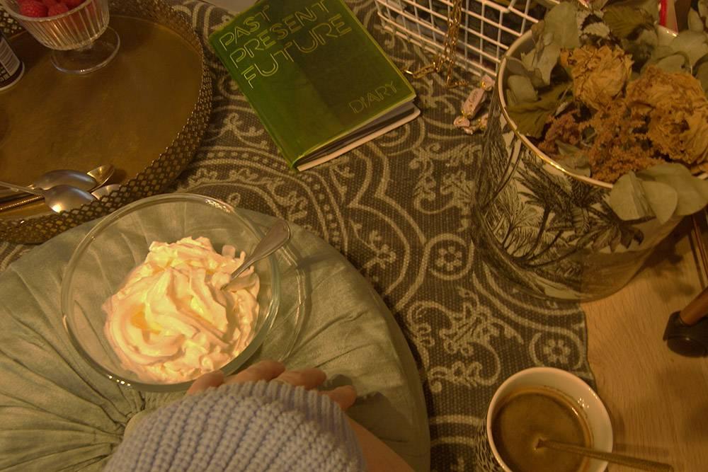 Завтрак в кабинете