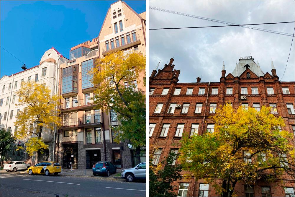 Современные дома и старый фонд на Васильевском спокойно соседствуют