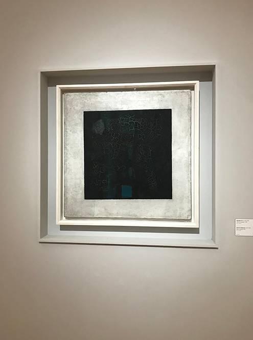 Тот самый «Черный квадрат» Казимира Малевича находится в Новой Третьяковке