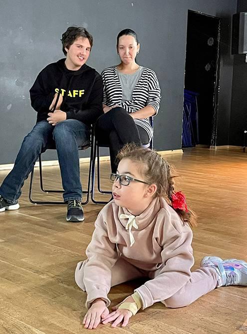 Репетиция спектакля «Кошкин дом» вобновленном составе в сентябре 2021года