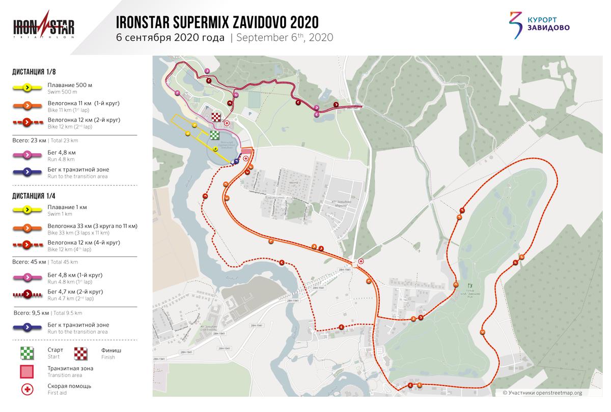 Карта гонки. Источник: официальный сайт Ironstar