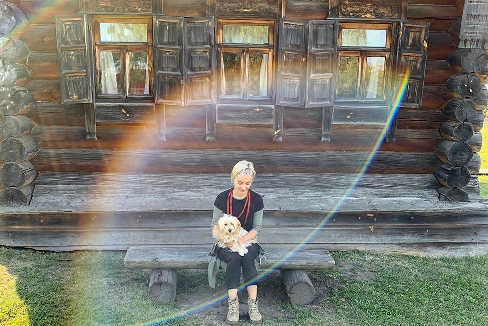 Фиба в Музее деревянного зодчества вСуздале