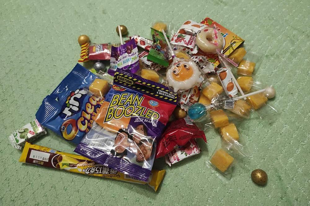 Сюрприз длясына — импортные сладости